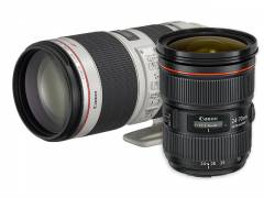 EF 24-70 mm 1:2,8L II USM + EF 70-200 mm 1:2,8L IS II USM
